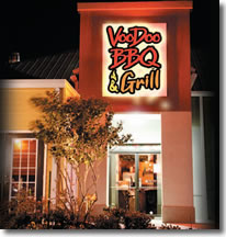 Das Voodoo BBQ Bar & Grill in New Orleans
